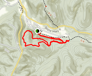 Eagles Nest Loop Trail Map