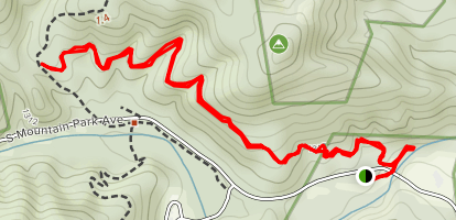 Hidden Cove Trail Map