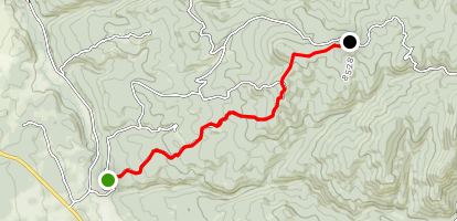 Illinois Gulch Map