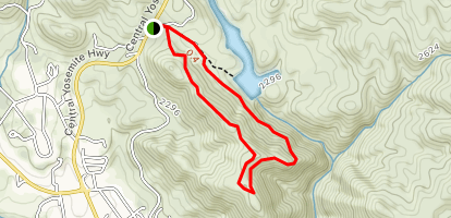 Stockton Creek Preserve Loop via 140 Trailhead - California ...