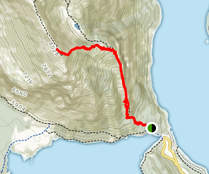 Indefatigable Trail Map
