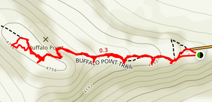 Buffalo Point Trail Map