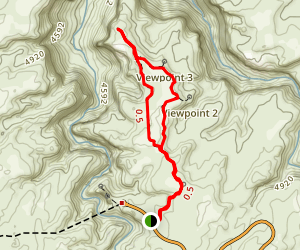 Slickrock Foot Trail Map