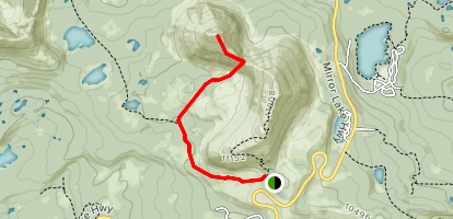 Reid's Peak Map