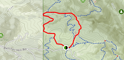 Rawhide Trail and Wrangler's Run Trail Map
