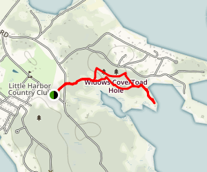 Heron Point Loop Map