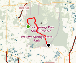 Rock Springs Run Map