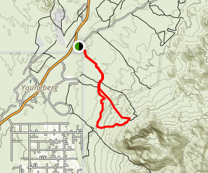 Prospector's View Trail Map