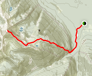 Erg Mountain Trail Map
