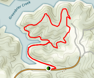 Yatesville Lake State Park Campground Loop Map