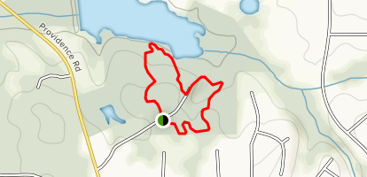 Providence Park Red and Blue Loop Trail Map