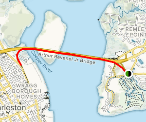 Arthur Ravenal Junior Bridge Walk Map