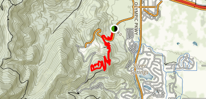 RTS, Iron Bill, and Legacy Loop Trail Map