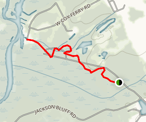 Wacamaw Wildlife Refuge Trail Map