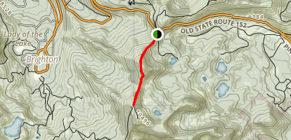 Guardsmans Pass Trail Map