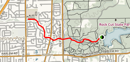 Willow Creek Trail Map