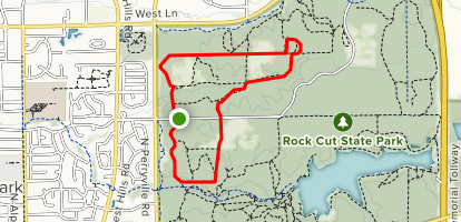 Rock Cut Equestrian Trail Map