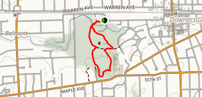 Maple Grove Forest Preserve Trail Map
