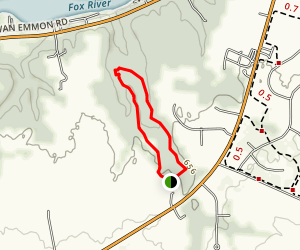 Richard Young Forest Preserve Map