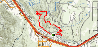 Stealth to Glenwild Loop Map