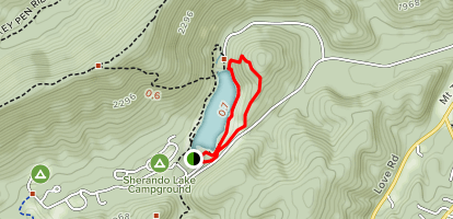 Sherando Cliffs Map