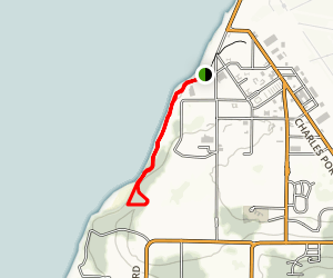 Whidbey Island Cliffside Trail Map
