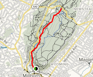 Rahway (White) and River Trail Map