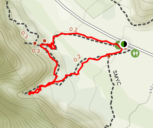 Lost Creek and Children's Discovery Loop Trail Map
