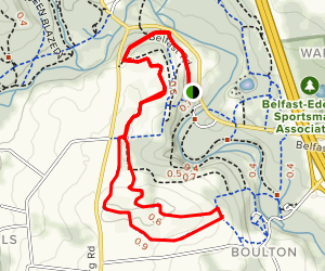 Homestead Trail (Blue-blazed) Map