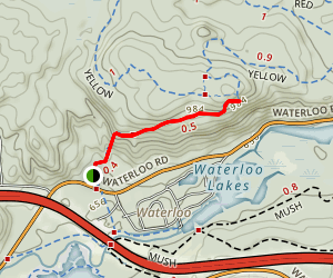 Highlands Trail (Teal) Map