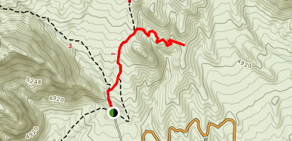 Keystone Thrust Trail Map