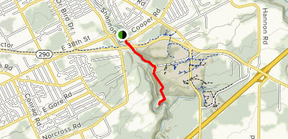 Wintergreen Gorge Trail Map