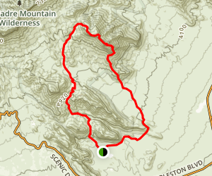 Pincushion and Damsel Peaks Map