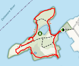 Amico Island County Park Loop Map