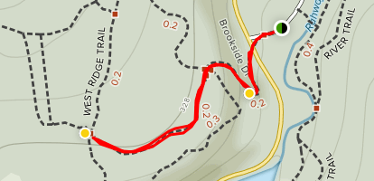 Painters Point Trail Map