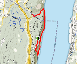 Long Path and Shore Trail: Out and Back Map