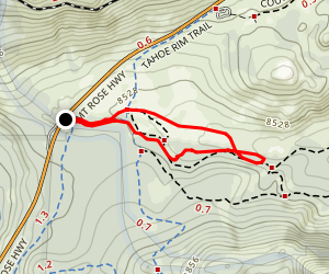 Mount Rose Meadow Map