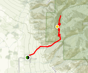 Corbly Gulch Trail Map