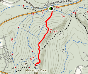 Governor Dick Tower Trail Map