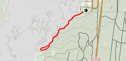 National Forest Trail Map
