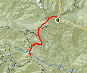 Inspiration Point via Mount Lowe Trail Map