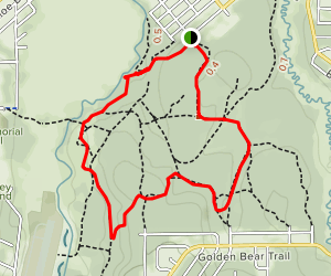 Upper Truckee River Loop [PRIVATE PROPERTY] Map
