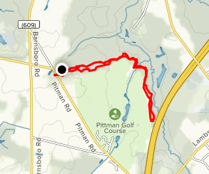 Ceres Park and Emerald Lake Map