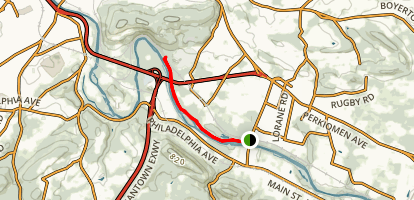 Exeter Trail Map