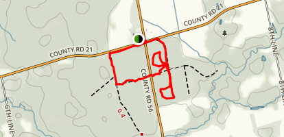 Simcoe County Forests: Baxter Tract Map