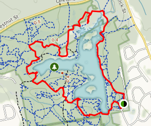 Cleveland Pond Loop Map