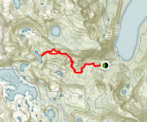 Susie Lake Map