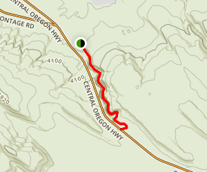 Dry River Trail Map