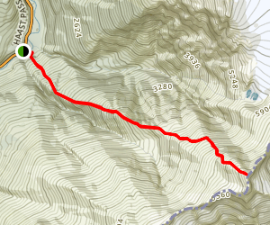 Mount Armstrong Summit Map