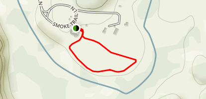 Bunkhouse Trail Map